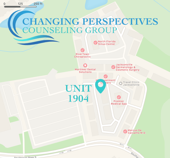 Changing Perspectives Counseling Group Office Map
